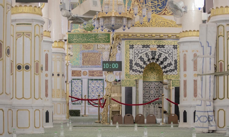 شؤون المسجد النبوي 5 آلاف مصل يوميا بالروضة الشريفة مع تطبيق الإجراءات الاحترازية صحيفة عين الوطن